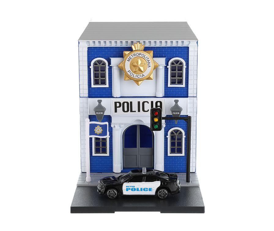 Игрушка набор  Машинок (Полицейский участок)