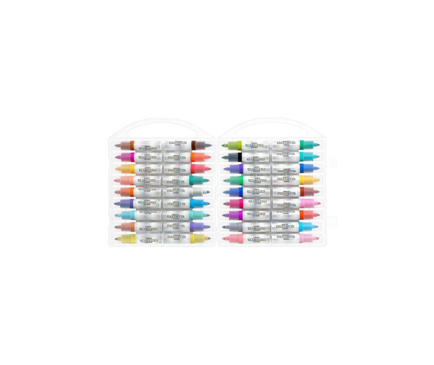 Набор акварельных маркеров (24 цвета)