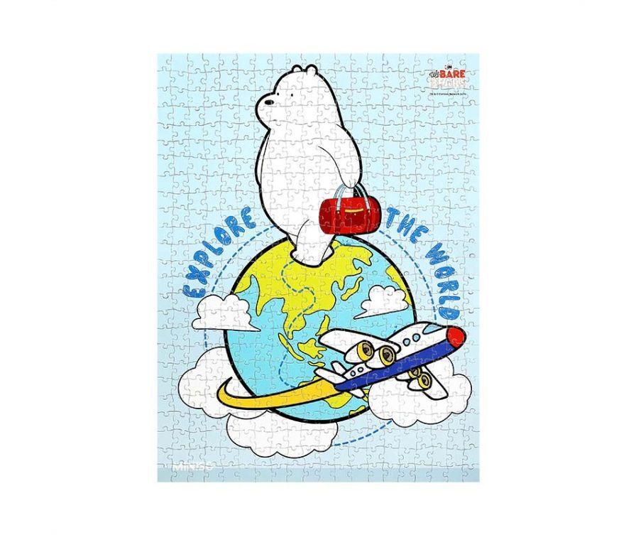 Игрушка Пазл We Bare Bears, 500шт (Белый медведь)