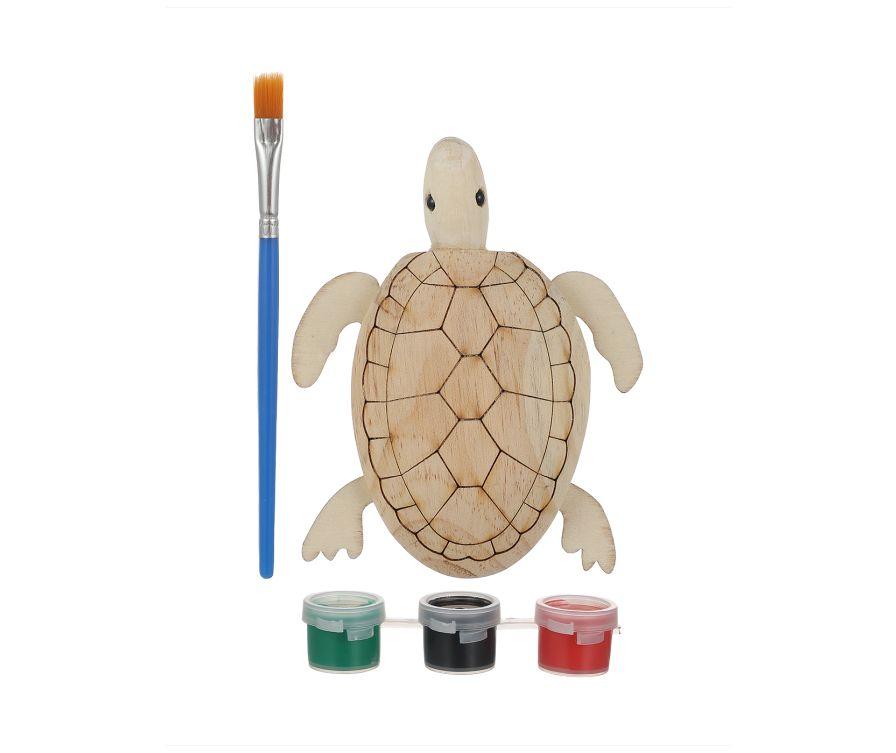 Раскраска (черепаха)