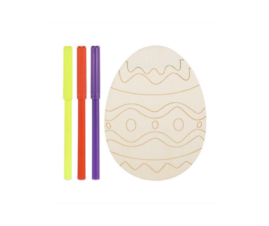 Игрушка раскраска Wooden (Пасхальное яйцо)