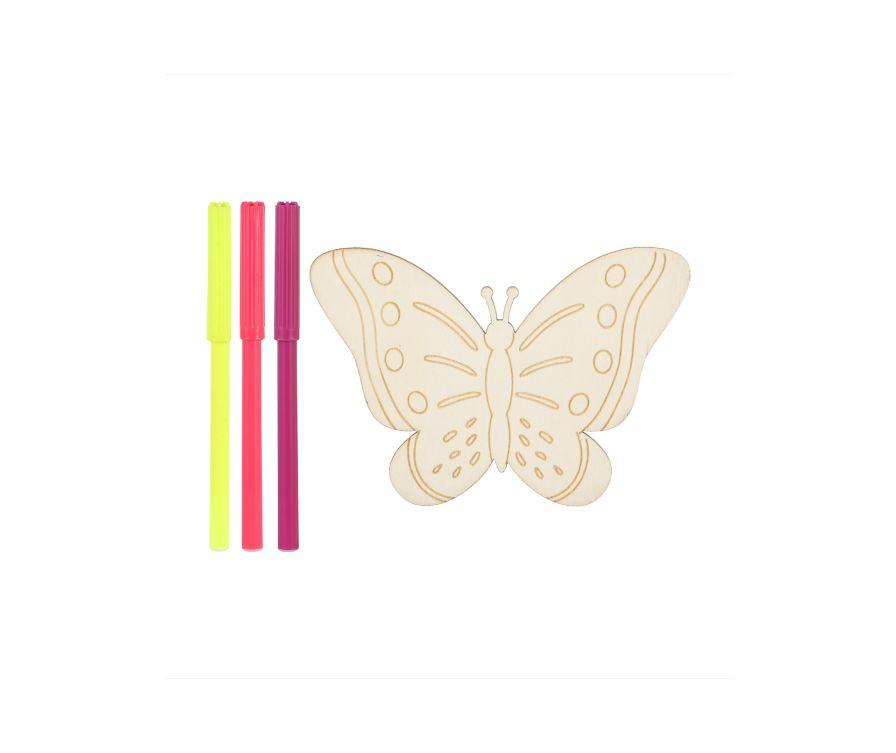 Игрушка раскраска Wooden (бабочка)