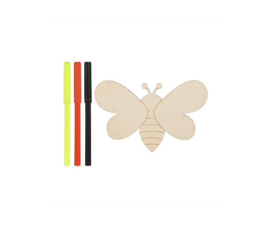 Игрушка раскраска Wooden (пчела)