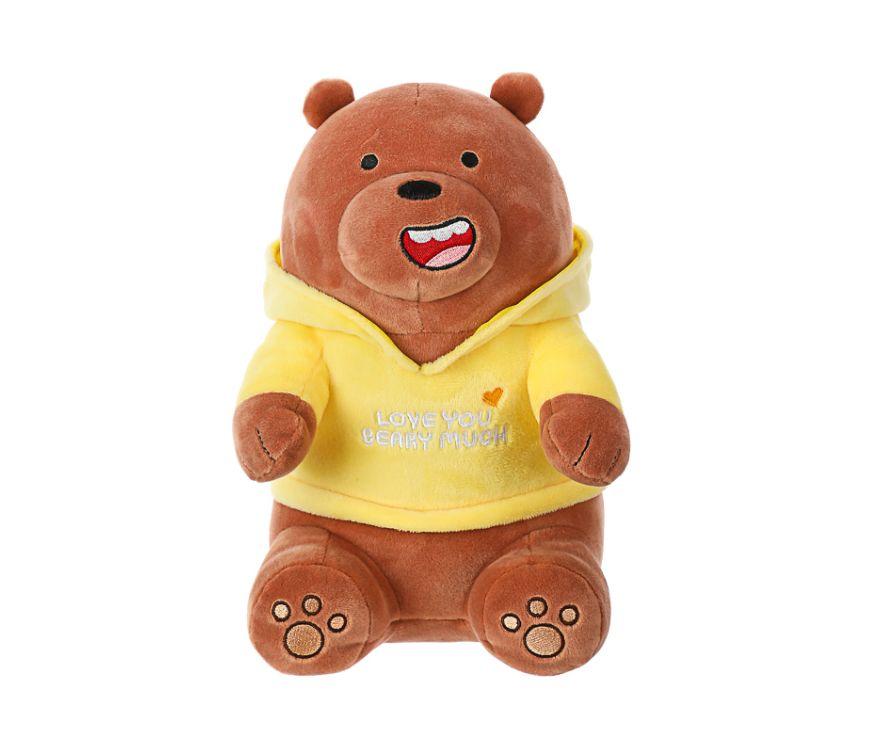 Игрушка мягкая, серия We Bare Bears (Гризли)