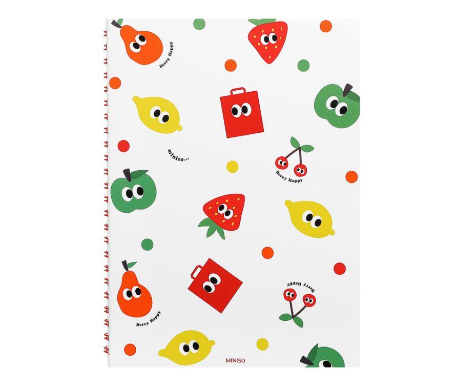 Блокнот А5, серия Fruity Fair (зеленый)