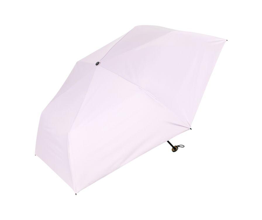 Тройной солнцезащитный зонтик (светло-фиолетовый)