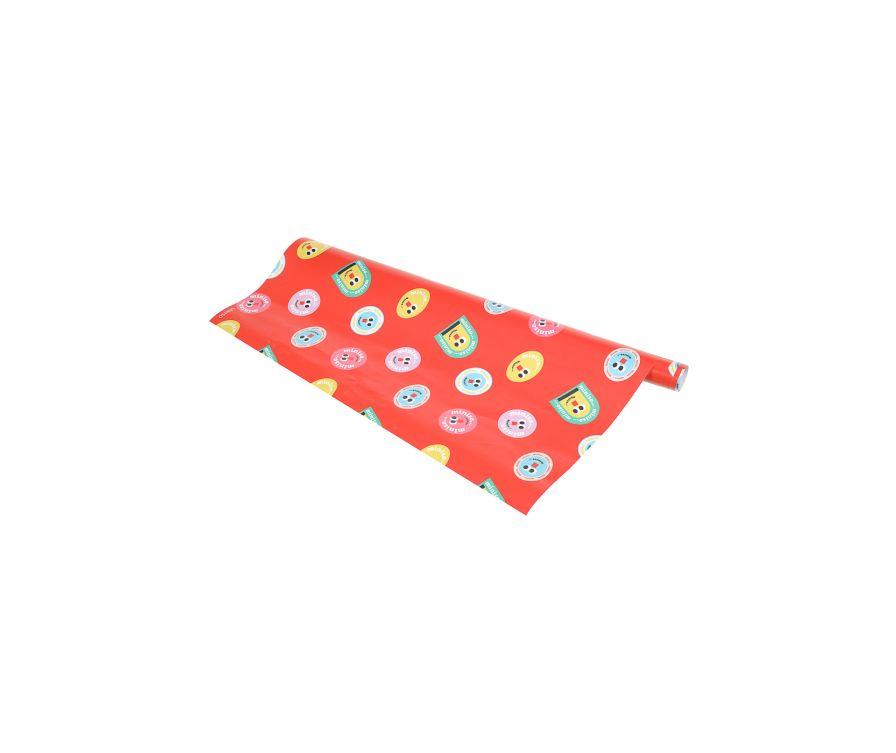 Упаковочная бумага Fruity Fairy (70 * 100см) розовый