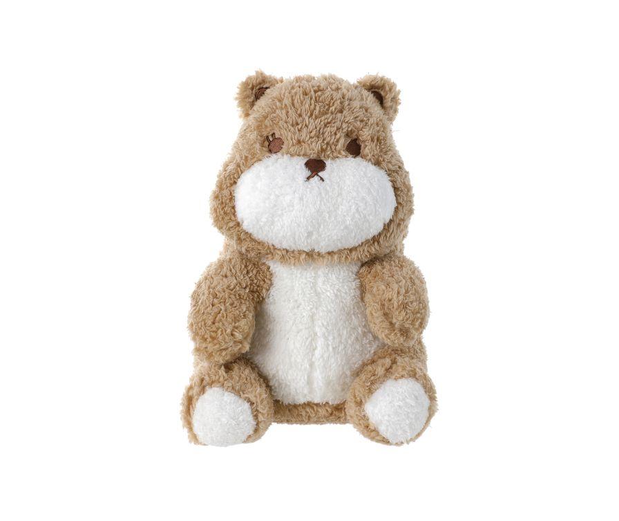 Игрушка сидящая мягкая A (Медведь)