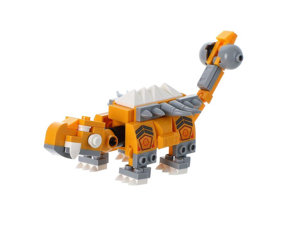 Игрушка строительные блоки (анкилозавр)