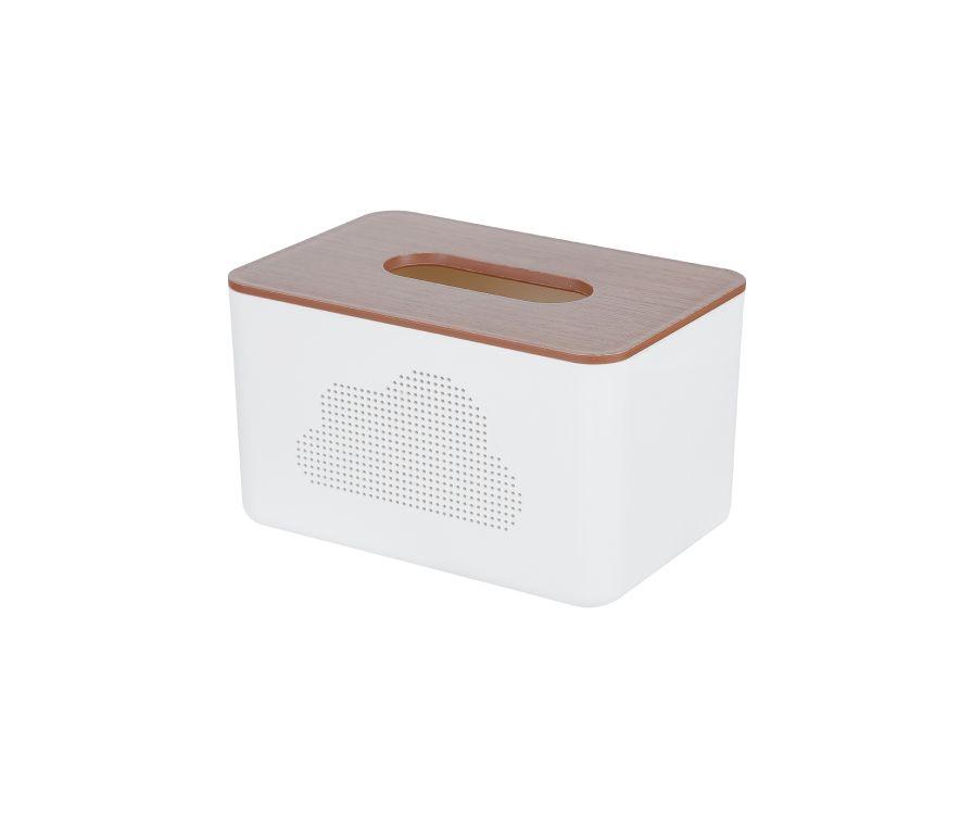 Коробка для салфеток с имитацией дерева (M)