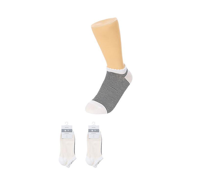 Женские однотонные низкие носки, 3 пары