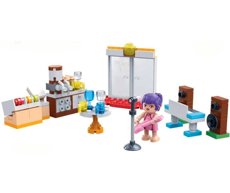 Игрушечные строительные блоки (Приморский магазин напитков)