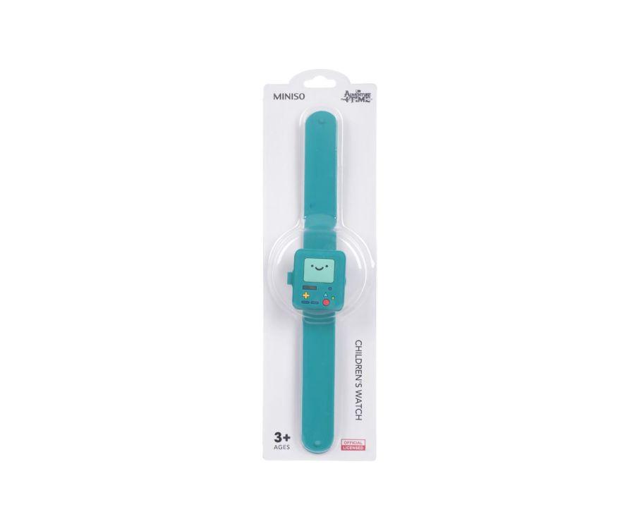 Детские часы, цвет зеленый