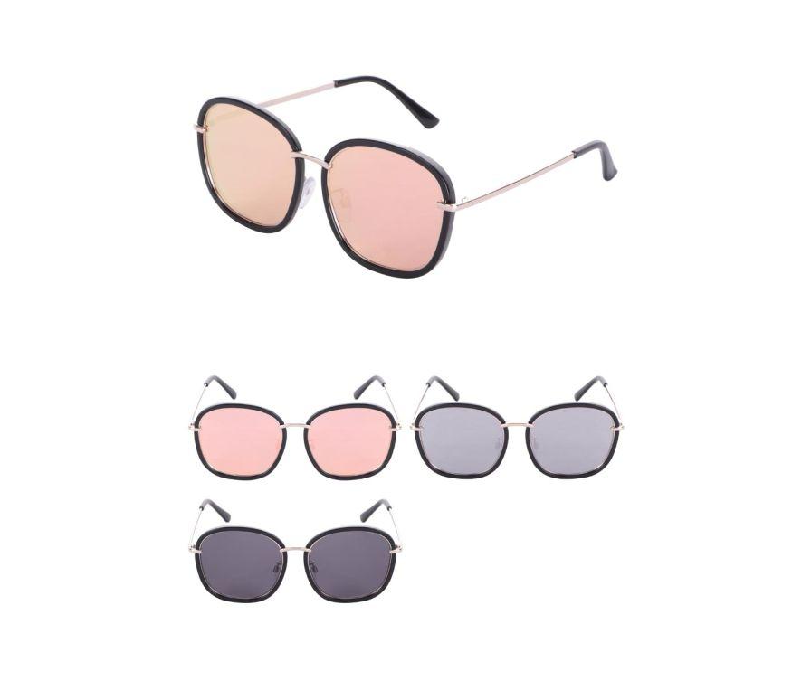 Женские солнцезащитные очки с большой оправой