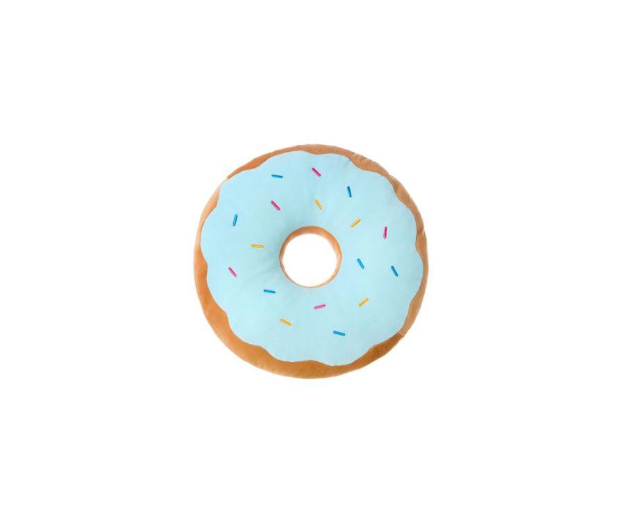 Пончик подушка (синий)