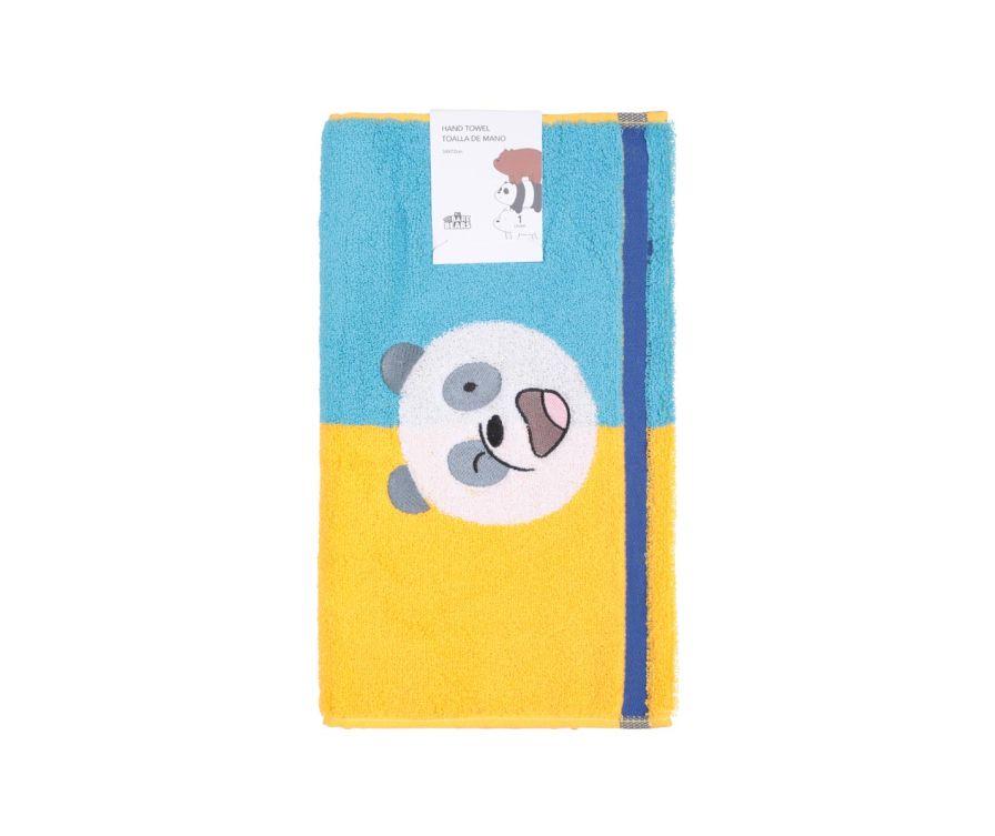 Полотенце для рук (желтый и синий)
