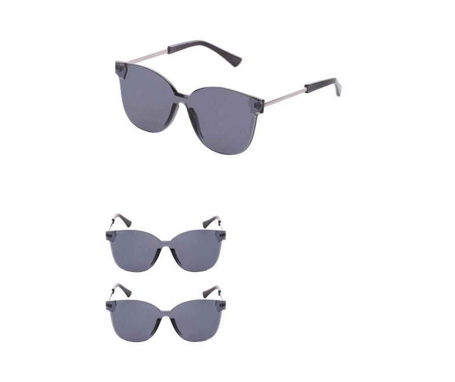 Модные солнцезащитные очки (серый)
