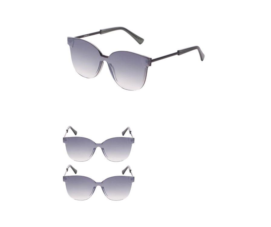 Солнцезащитные очки Gradient (черные)