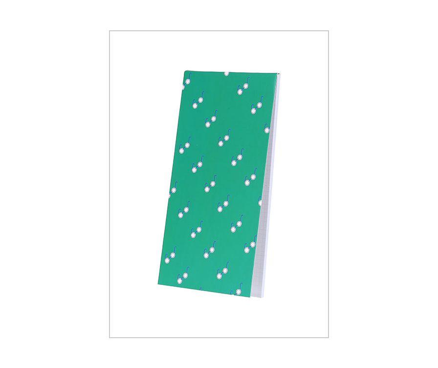 Блокнот 2шт 30 листов (зеленый)