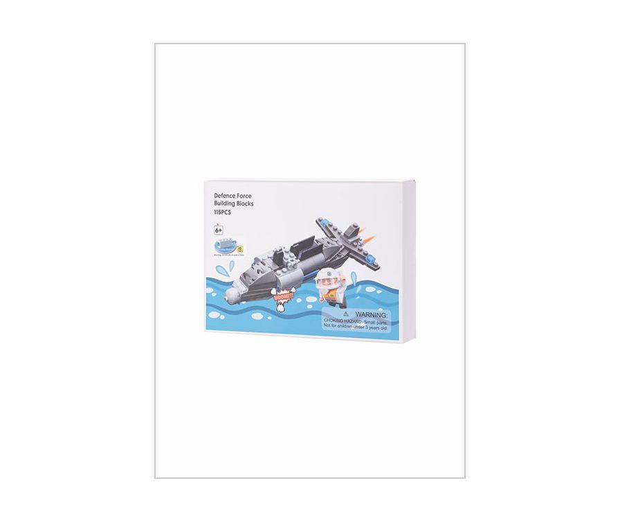 Игрушечные Строительные блоки 3 в 1 (подводная лодка)