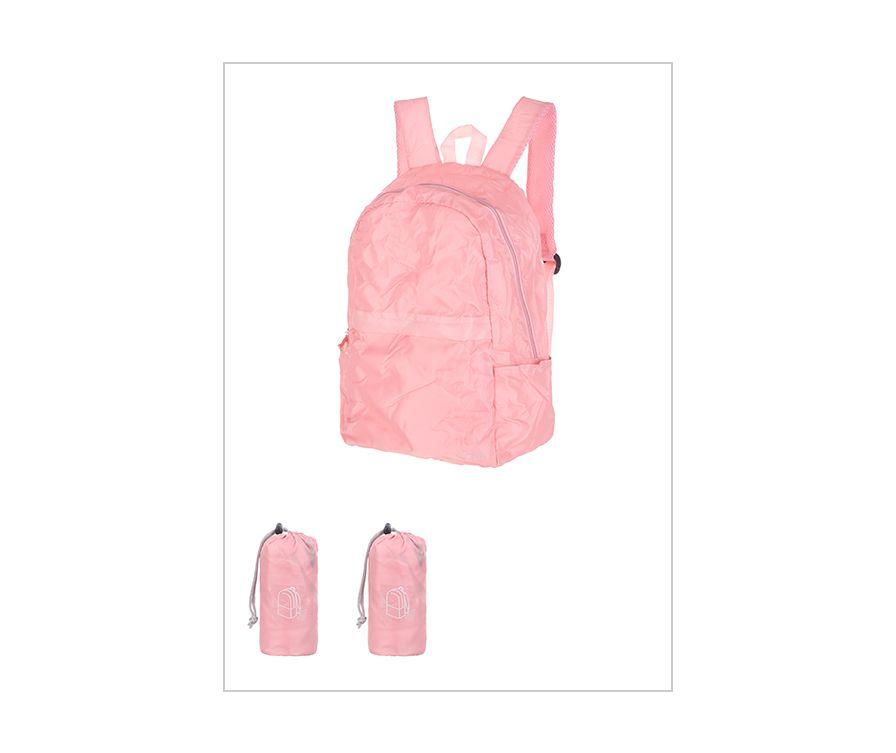 складной рюкзак (розовый)