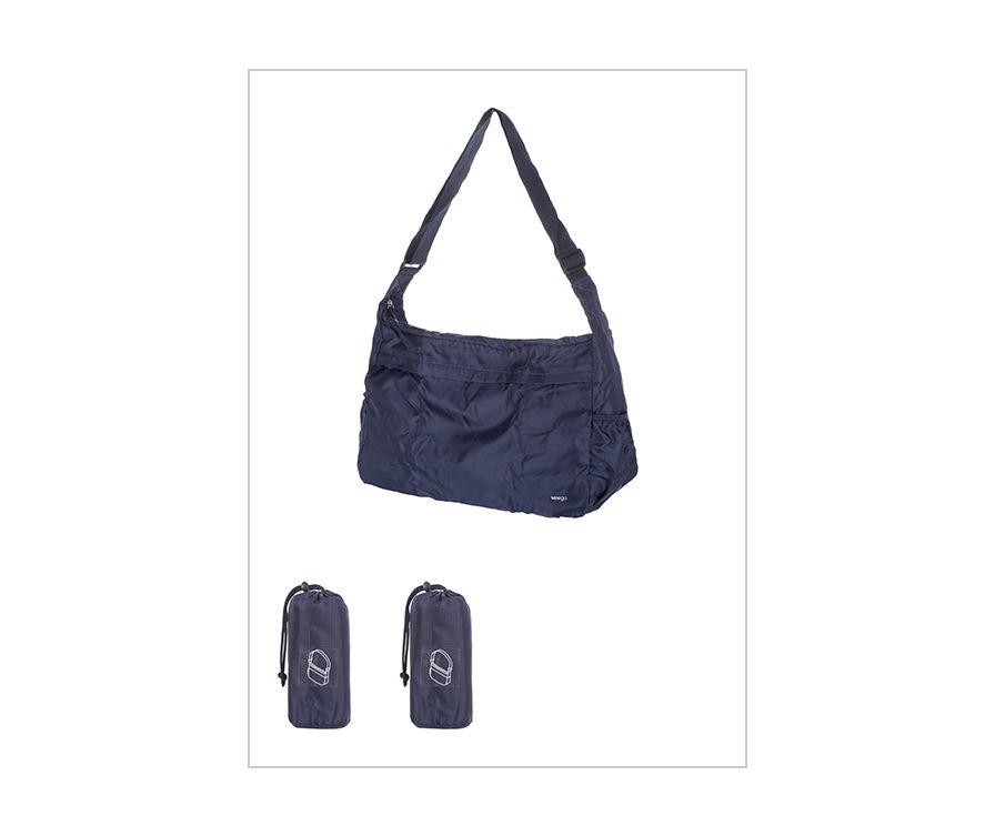 Складная сумка Minigo (темно-синий)