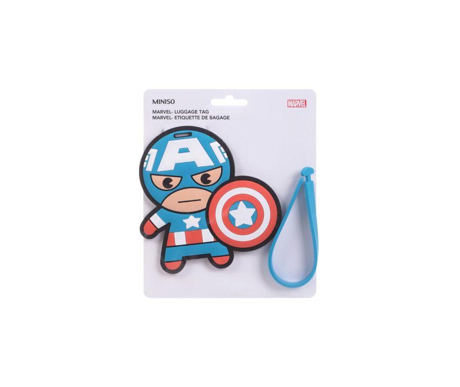 Марвел- Багажная бирка, Капитан Америка
