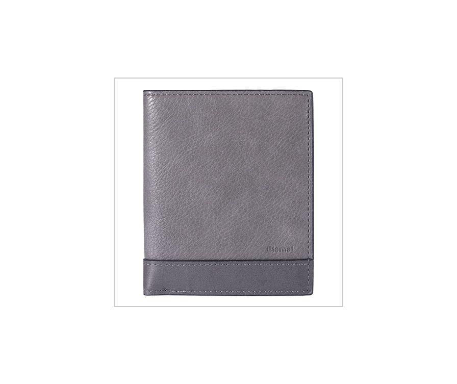 Мужской кошелек, серый