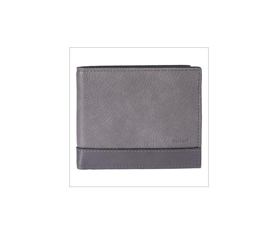 Мужской кошелек (серый)