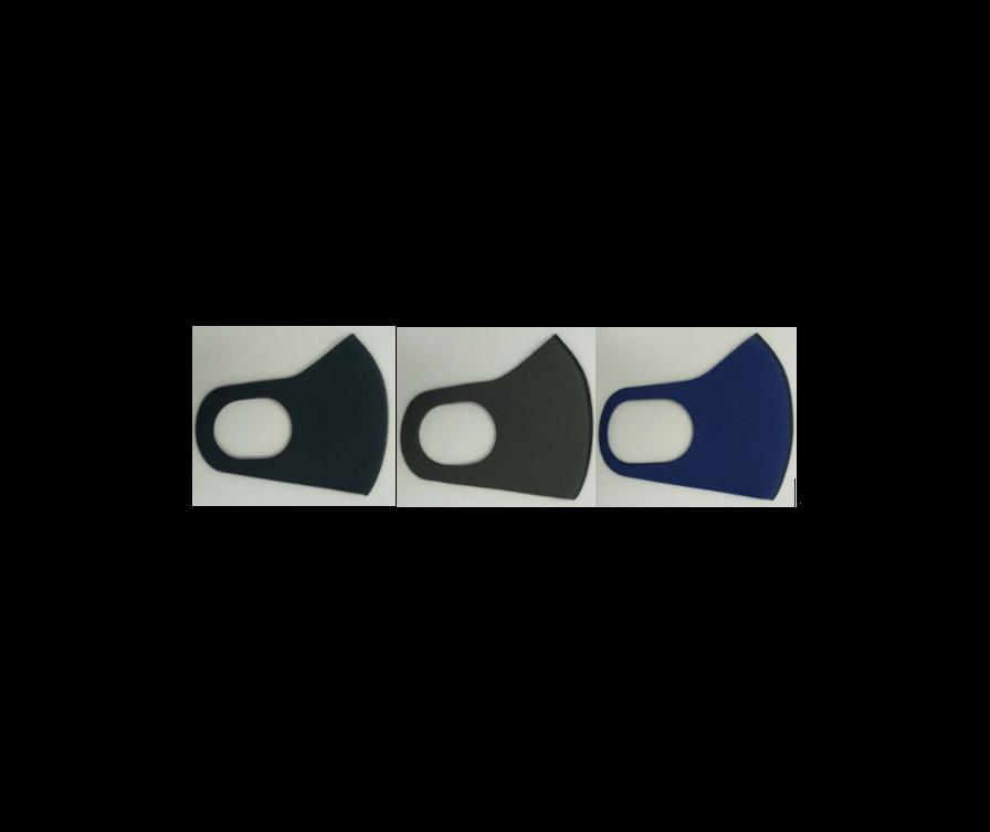маска для рта, темно синяя