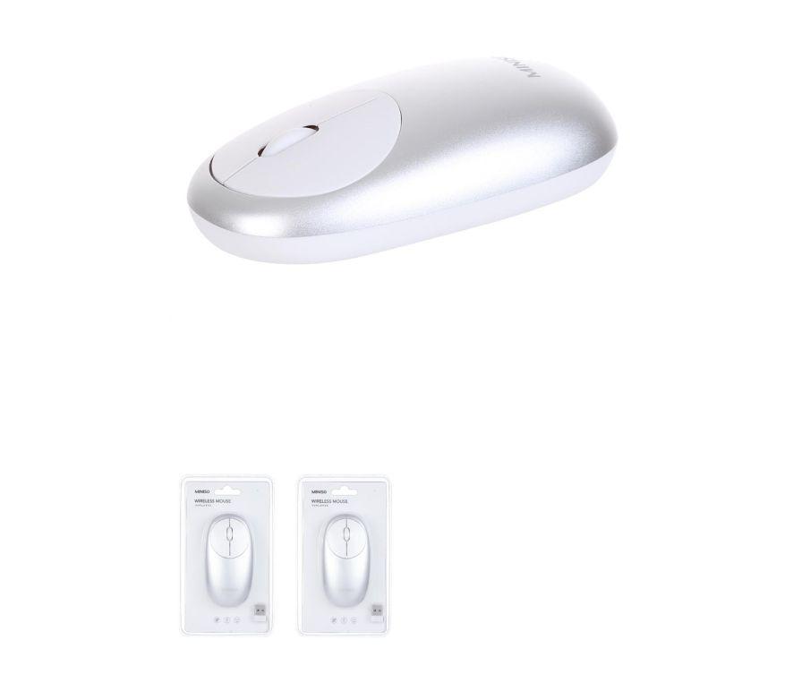 Двухрежимная беспроводная мышь (серебро) Модель: WM-106
