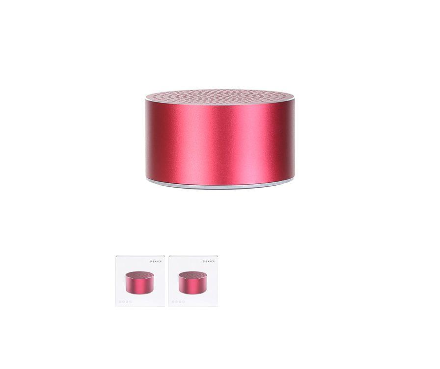 Беспроводной динамик Mini Metallic , Модель BT121 , цвет красный