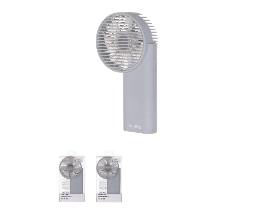Ручной вентилятор Cirxquare Модель MC-009 (серый)