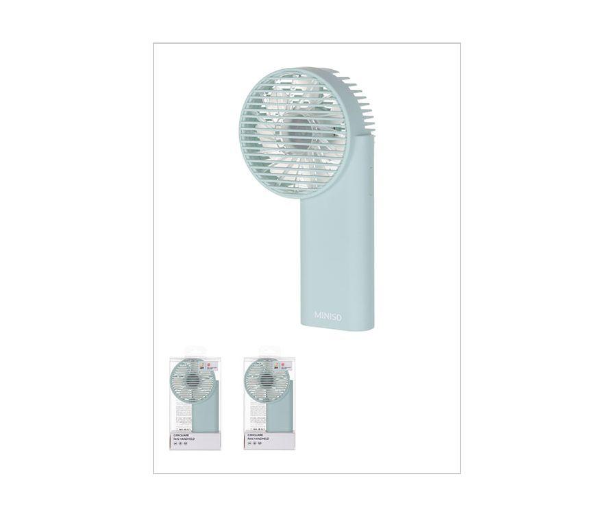 Ручной вентилятор Cirxquare Модель MC-009 (зеленый)