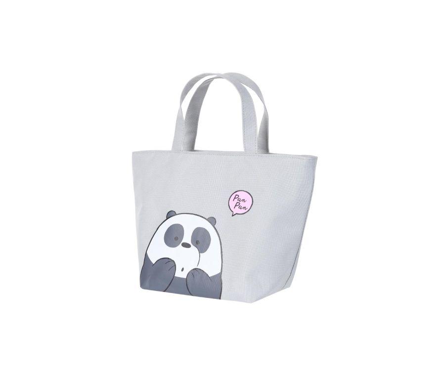 Обеденная сумка -цвет серый,серия We Bare Bears