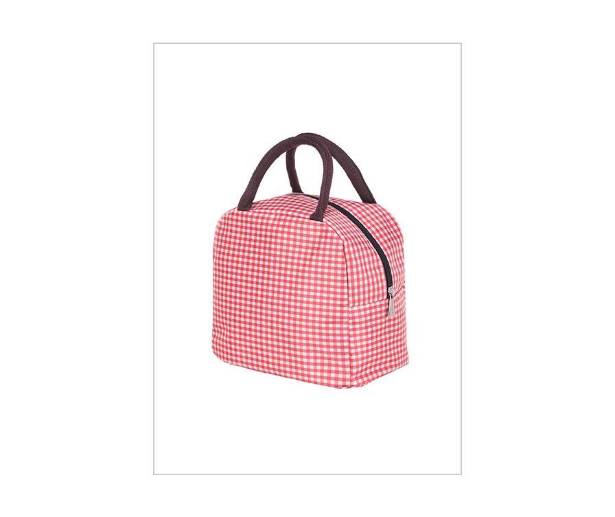 Обеденная сумка, цвет красный