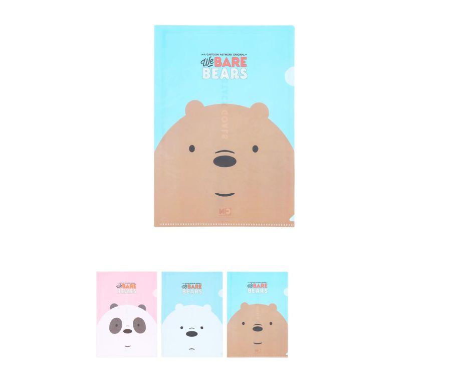 Папка с файлами (3 шт),серия We Bare Bears