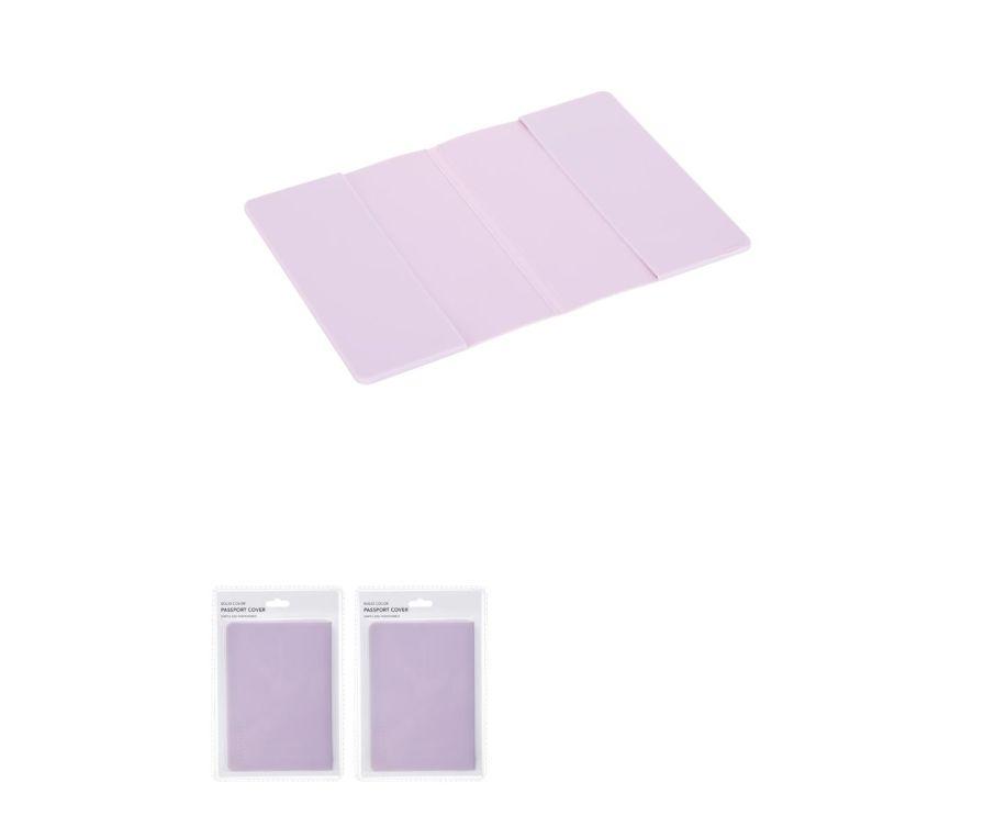 Обложка для паспорта (фиолетовый)