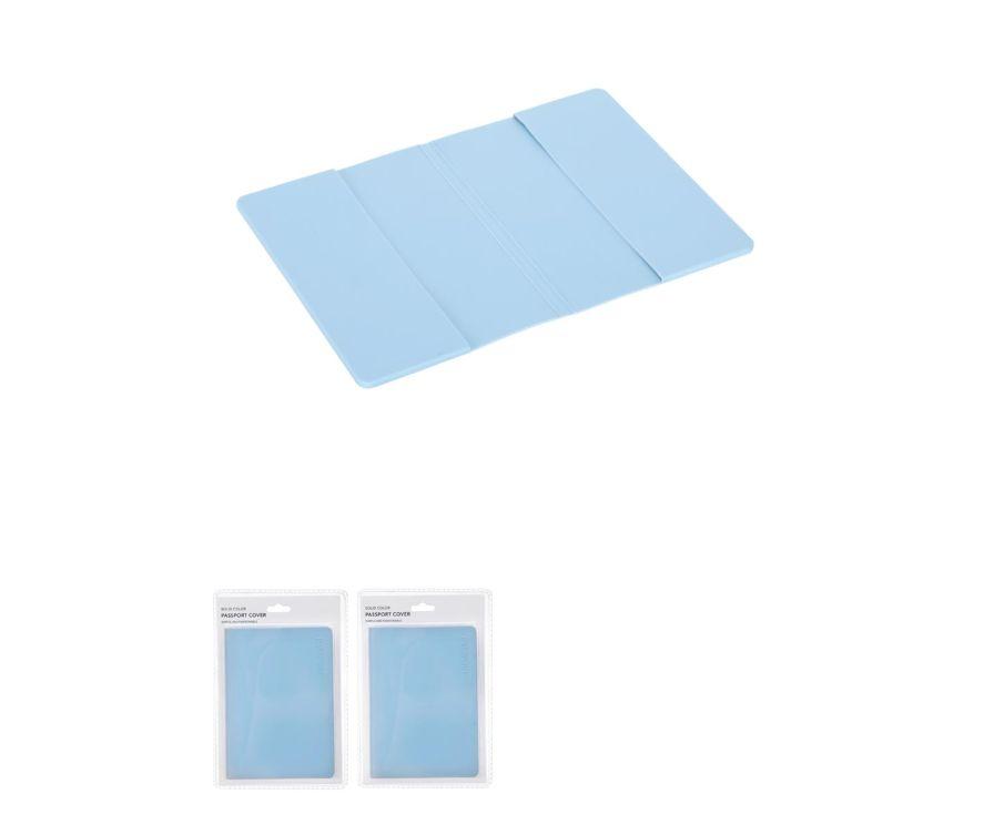 обложка для паспорта (синий)