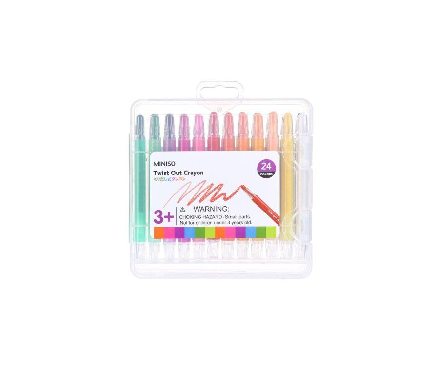 Карандаши цветные 24 цвета, OP-2065-24