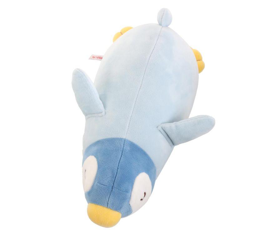 Плюшевая игрушка пингвин, цвет синий